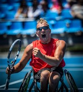 Dylan Alcott's 24 Hours of Wheelchair Tennis