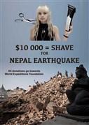 Shaving for Nepal